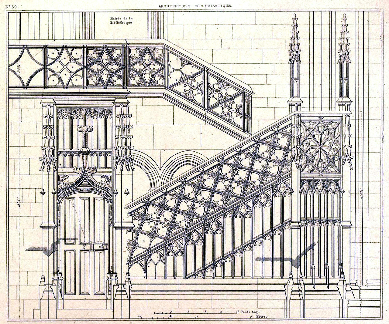 Rouen Cathedral Staircase 2